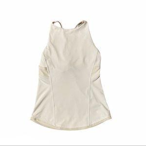 IVIVVA LULULEMON Girl's White Tank Top Size 10